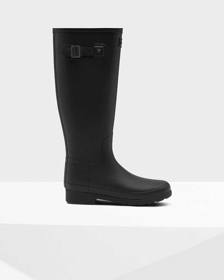 Hunter Women's Original Refined Tall Wellington Boots