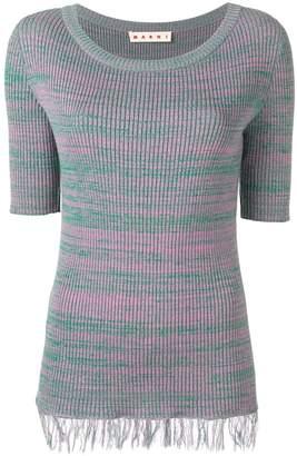 Marni fringed sweater