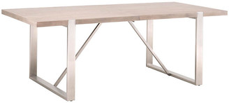 One Kings Lane Serge Extension Dining Table - Natural Gray