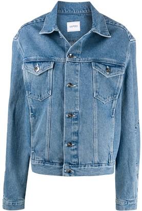 Lourdes Lou oversized denim jacket