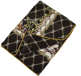 Roberto Cavalli Spider Silk Bedspread - Brown - 180x130cm