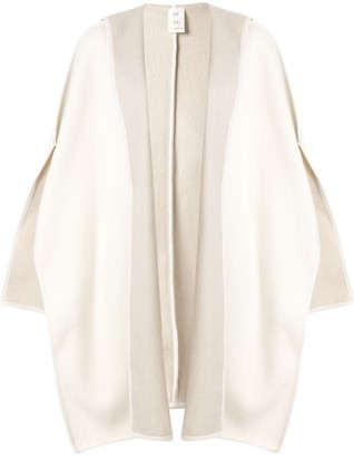 Seya. Hooded Knit Cape
