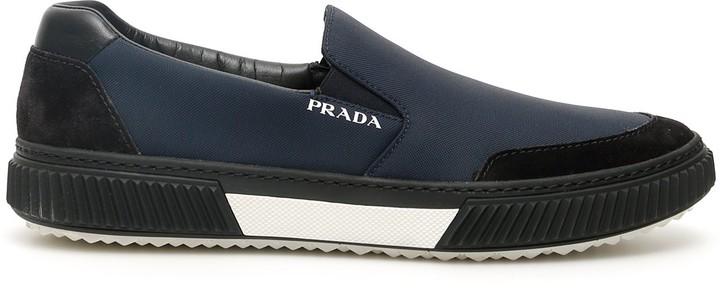 Mens Blue Prada Shoes   Shop the world