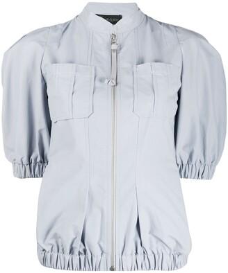 Mr & Mrs Italy Short Sleeve Panelled Jacket