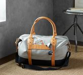 Pottery Barn Rive Weekender - Taupe/Cognac