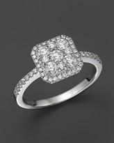 Bloomingdale's Diamond Cluster Ring in 14K White Gold, .75 ct. t.w. - 100% Exclusive