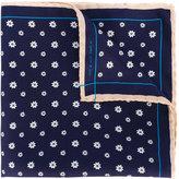 fe-fe floral pocket square - men - Silk - One Size