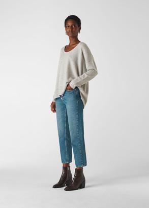 Cashmere Scoop Neck Sweater