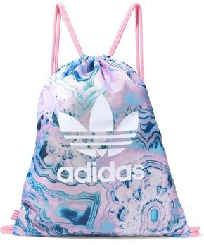 adidas Gym Sack Logo-print Marbled Shell Backpack