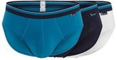Sloggi Pack Of Three Turquoise Midi Briefs