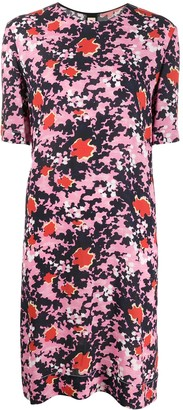 Marni Buds print tunic dress