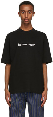 Balenciaga Black New Copyright Large Fit T-Shirt