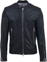 S.W.O.R.D. Leather Biker Jacket