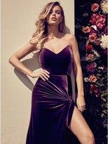 GUESS by Marciano Women's Denissa Velvet Maxi Dress