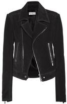 Balenciaga Suede biker jacket