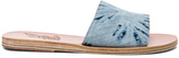 Ancient Greek Sandals Denim Taygete Sandals in Blue,Ombre & Tie Dye.