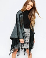 B.young Striped Poncho