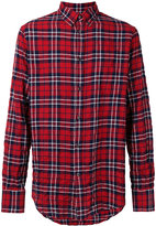 DSQUARED2 casual tartan shirt - men - Cotton/Spandex/Elastane - 56