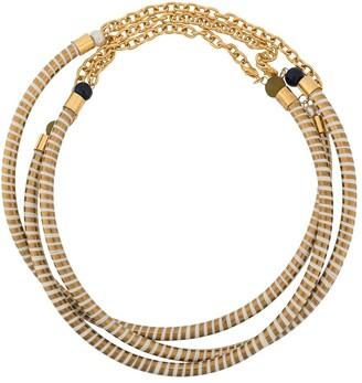A.N.G.E.L.O. Vintage Cult 1980s Enamelled Chain Necklace