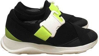 Christopher Kane Black Polyester Trainers