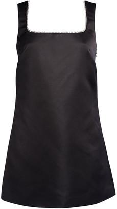 Area Open Back Sleeveless Mini Dress