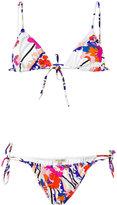 Emilio Pucci floral bikini - women - Polyamide/Spandex/Elastane - 42