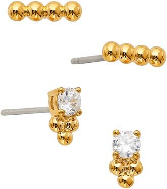 AJOA Lala Set of 4 Stud Earrings