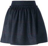 Jil Sander Navy tweed mini skirt