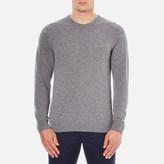 Lacoste Men's Crew Neck Sweatshirt Stone Chine