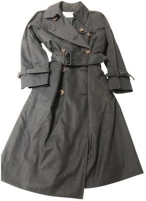 J&M Davidson J & M Davidson Khaki Cotton Trench Coat for Women