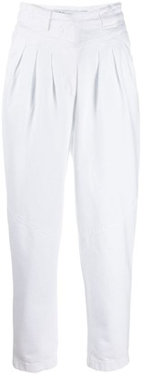 IRO Pleated Front High Waisted Trousers