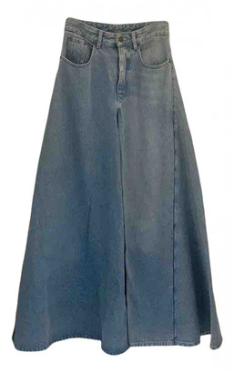Y/Project Blue Denim - Jeans Trousers