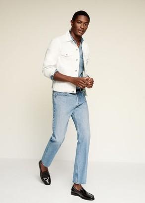MANGO MAN - White denim jacket white - S - Men