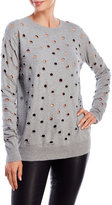 Religion Holey Distressed Sweater