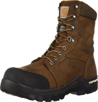 Carhartt Men's CSA 8-inch Rugged Flex Wtrprf Insulated Work Boot Comp Safety Toe CMR8939 Industrial