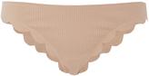 Marysia Swim Broadway Scallop Edged Bikini Bottoms