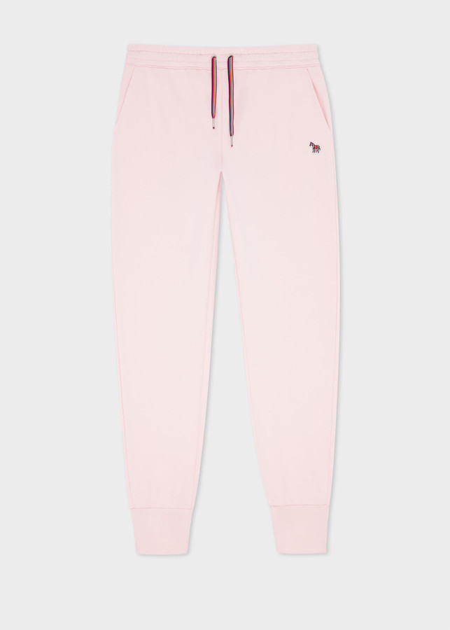 Thumbnail for your product : Paul Smith Women's Pink Zebra Logo Organic-Cotton Sweatpants