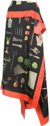 Monse Tool Shed scarf style skirt