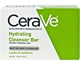 CeraVe Facial Cleanser, Hydrating Cleansing Bar, 4.5 Ounce
