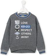 Kenzo icon print sweatshirt