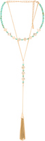 Ettika Tassel Layered Necklace