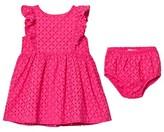 Ralph Lauren Pink Eyelet Dress