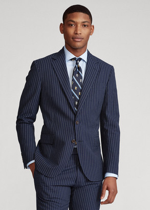 Ralph Lauren Polo Striped Suit Jacket