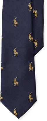 Ralph Lauren Pony Player Silk Tie
