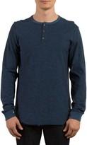 Volcom Men's Moxie Henley T-Shirt