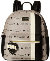 Betsey Johnson Striped Backpack