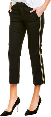 Zadig & Voltaire Posh Militaire Wool Pant