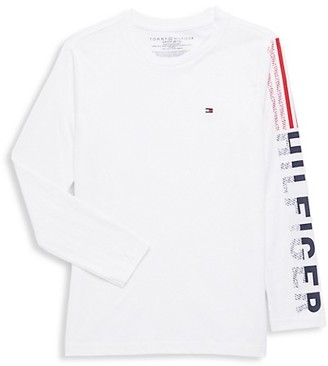 Tommy Hilfiger Boy's Long-Sleeve Cotton Tee