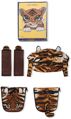 Dolce & Gabbana Kids Tiger Baby Carrier Covers