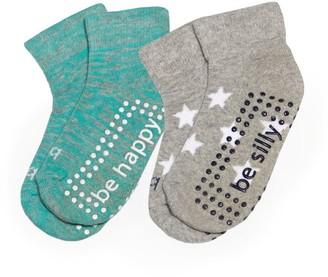 Sticky Be Socks Be Slogan Socks (Pack of 2)
